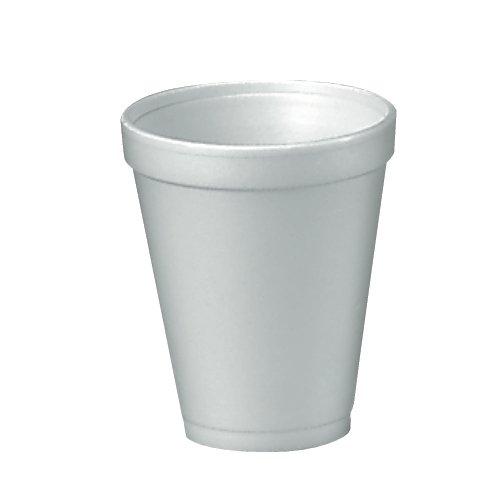 Dart Small Drink Cup - 12 Oz - 1000/carton - Styrofoam - White (12J12)