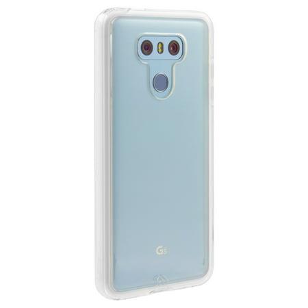 LG G6 Case-mate Clear w/Clear bumper Naked Tough case