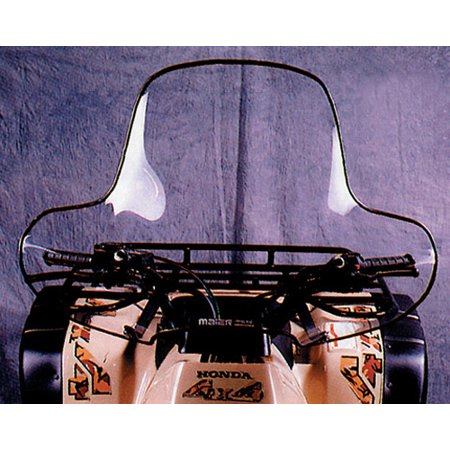 MAIER 46030 Universal Atv Windshield No Headlight Cut Out