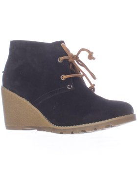 7360f253394 Product Image Womens Sperry Top-Sider Stella Prow Wedge Ankle Booties -  Black