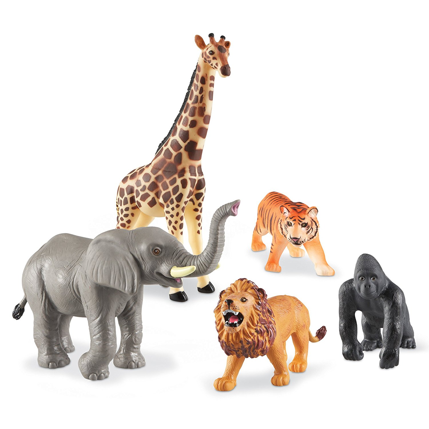 Learning Resources Jumbo Jungle Animals by LEARNING RESOURCES