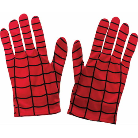 Spider-Man Adult Gloves Adult Halloween - Halloween Spider Food Ideas