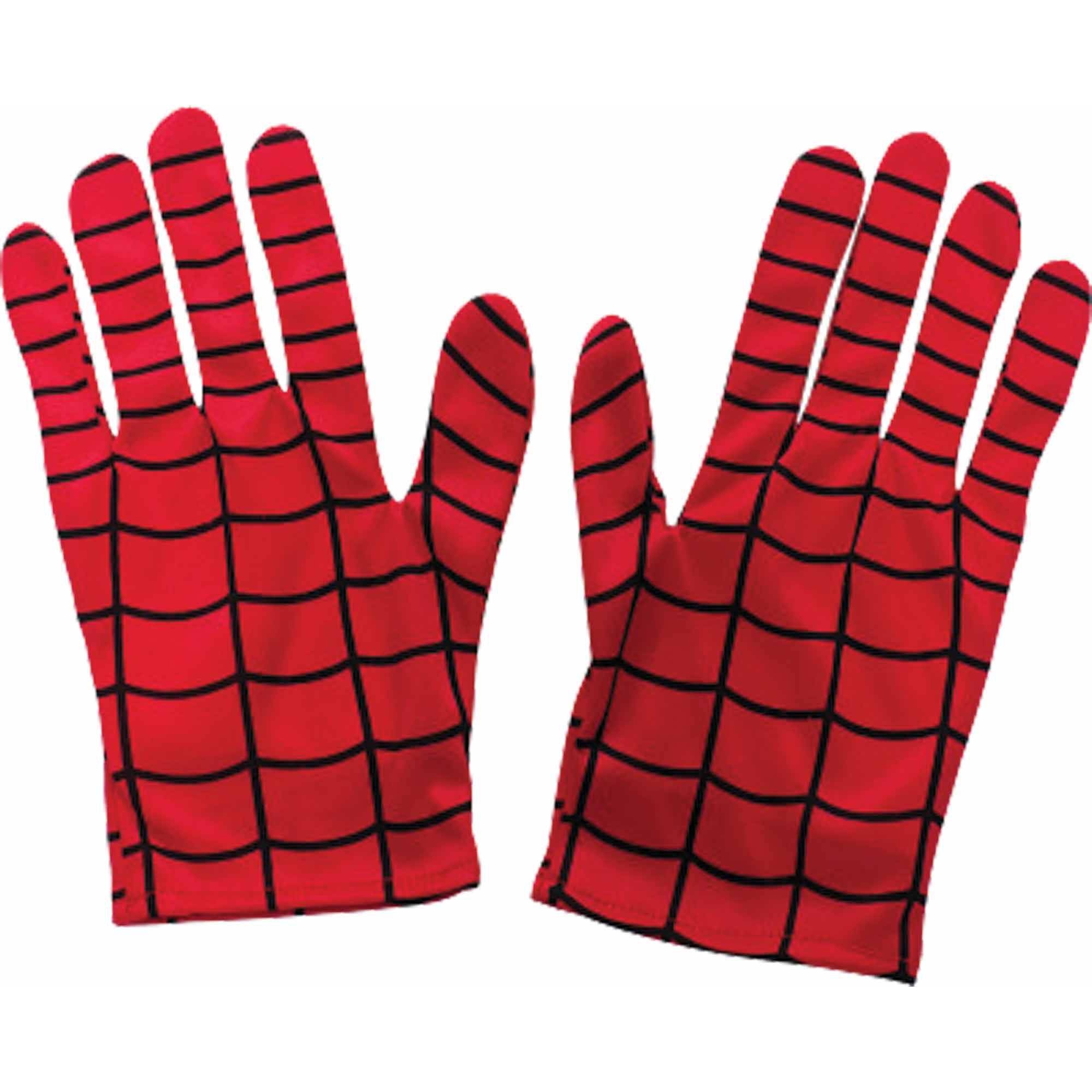 Spider-Man Adult Gloves Adult Halloween Accessory