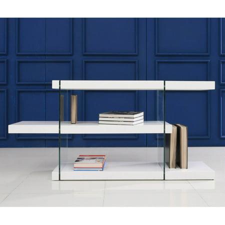Casabianca Furniture Vetro Decorative Bookcase