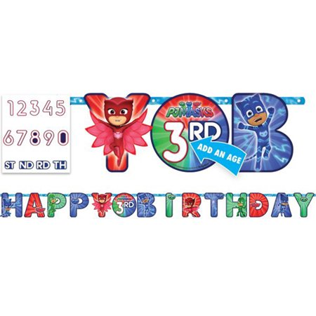 First Communion Banner Kit (PJ Masks Jumbo Letter Banner Kit)