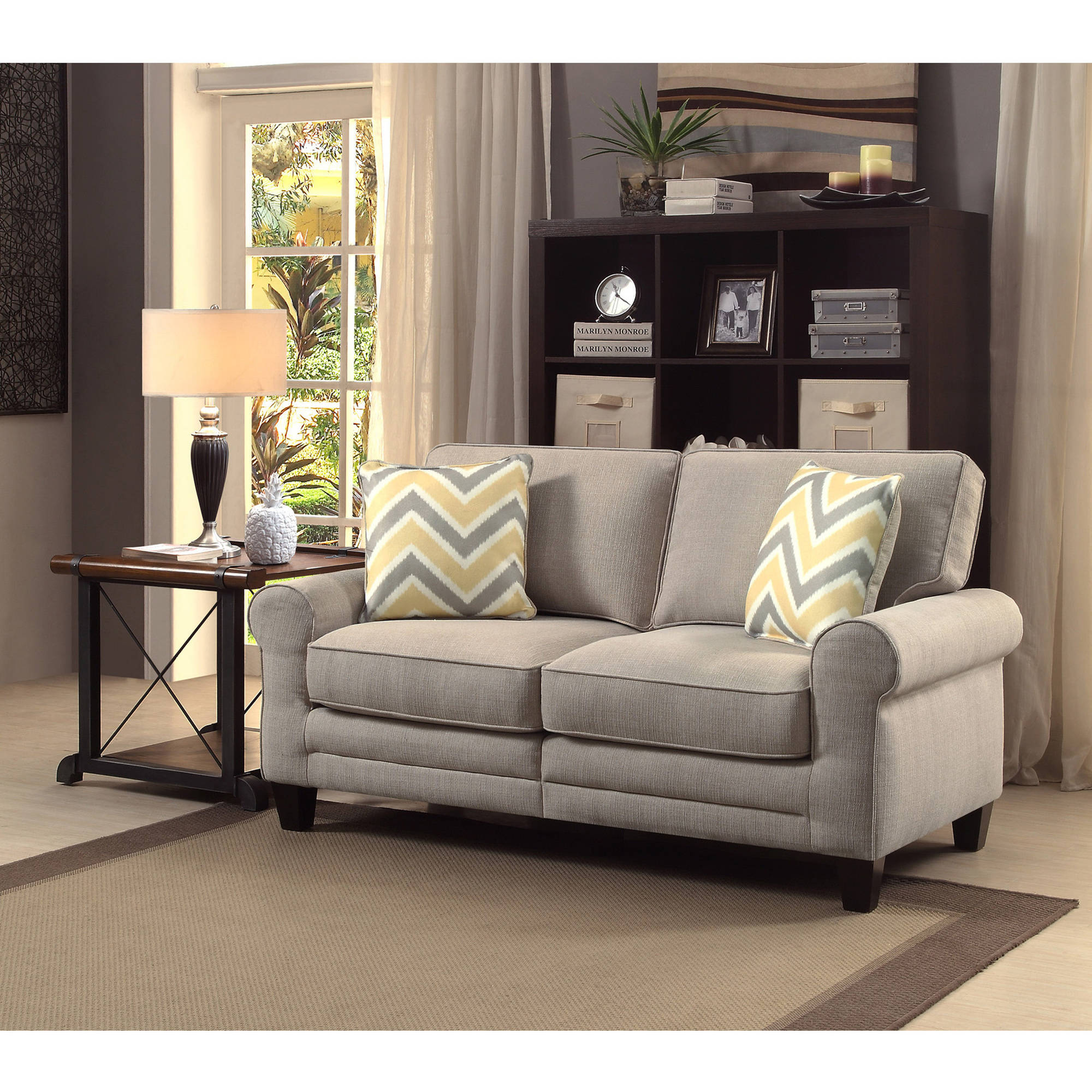 "Serta RTA Copenhagen Collection 61"" Loveseat, Multiple Colors"