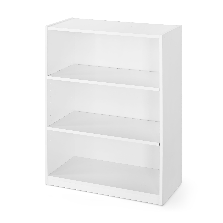 """Mainstays 31"""" 3 Shelf Bookcase, White - Walmart.com - Walmart.com"""