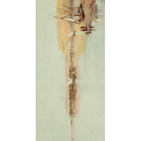 The Banks Of The Nile 1913 The Nile Near Temeh Canvas Art   Ella Du Cane  24 X 36