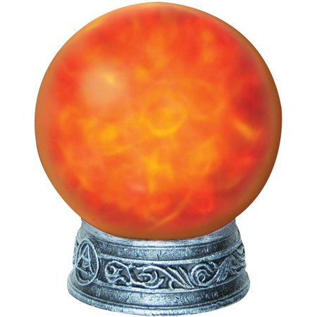 Red Orb Witches Magic Light Halloween Decoration (Halloween Light Show Timer)