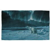 Wild Wings Polar Night Light 2 Bath Towel White 27X52