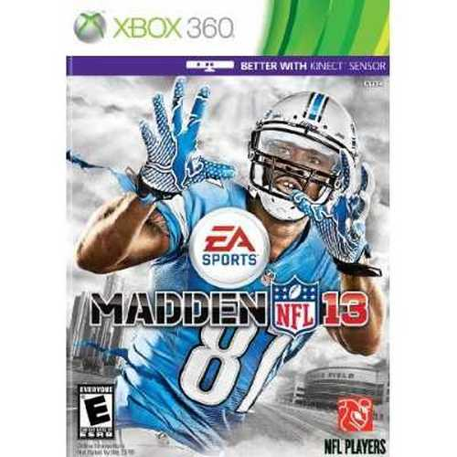 Madden NFL 13 (Xbox 360, 2012) Brand New Factory Sealed