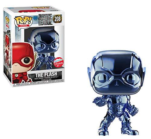 Pop Funko The Flash Blue Chrome Fugitive Toys