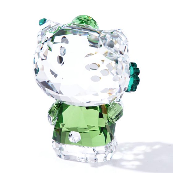 3a3bff32a3 Swarovski Color Crystal Figurine HELLO KITTY LUCKY CHARM #5268840 -  Walmart.com