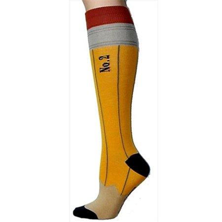 5911c4746 Foot Traffic - foot traffic pencil knee high socks  44  pack of 3 -  Walmart.com