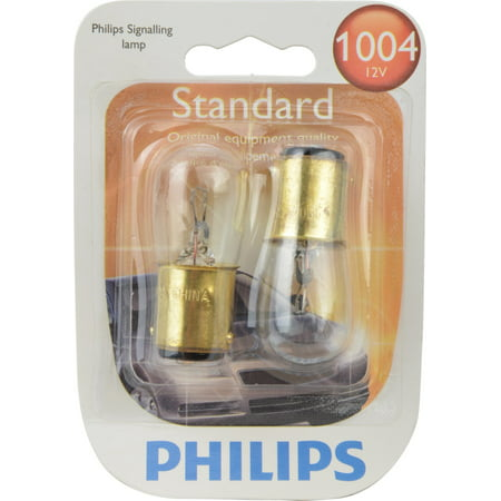 Philips Standard Miniature 1004, Pack of 2