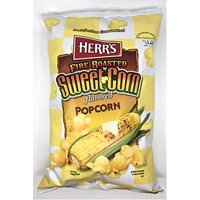 Herr's Fire Roasted Sweet Corn Popcorn 4-Pack- 6 oz. Bags