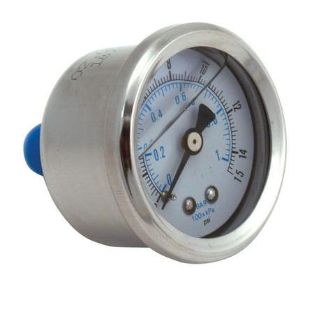 Spectre Performance Fuel Pressure Gauge 2515