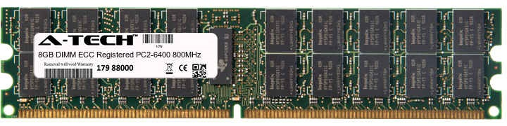 8GB Module PC2-6400 800MHz ECC Registered DDR2 DIMM Server 240-pin Memory Ram