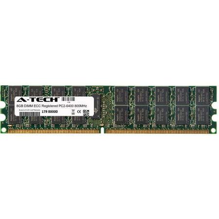 (8GB Module PC2-6400 800MHz ECC Registered DDR2 DIMM Server 240-pin Memory Ram)