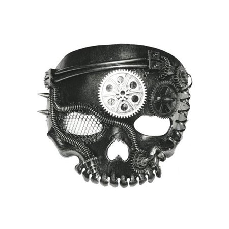 Steam Punk Mask for No Jaw Skeleton - 2017 Steam Halloween Sale