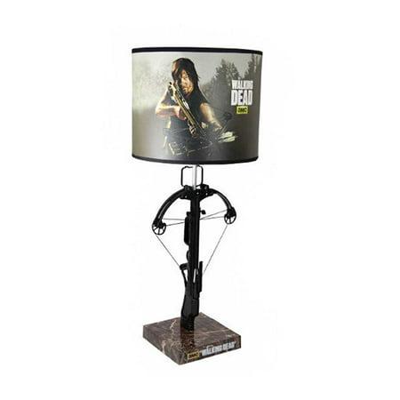 Walking Dead Daryl Dixon Crossbow Table Lamp Walmart Com