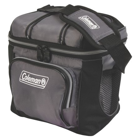 Coleman 3000001316 Cooler Soft 9 Can Gray W/ Liner