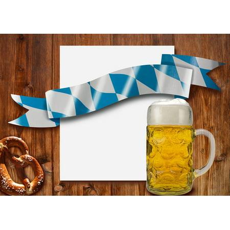 Peel-n-Stick Poster of Breze Brezn Beer Measure Mug Beer Mug Oktoberfest Poster 24x16 Adhesive Sticker Poster Print](Oktoberfest Mug)