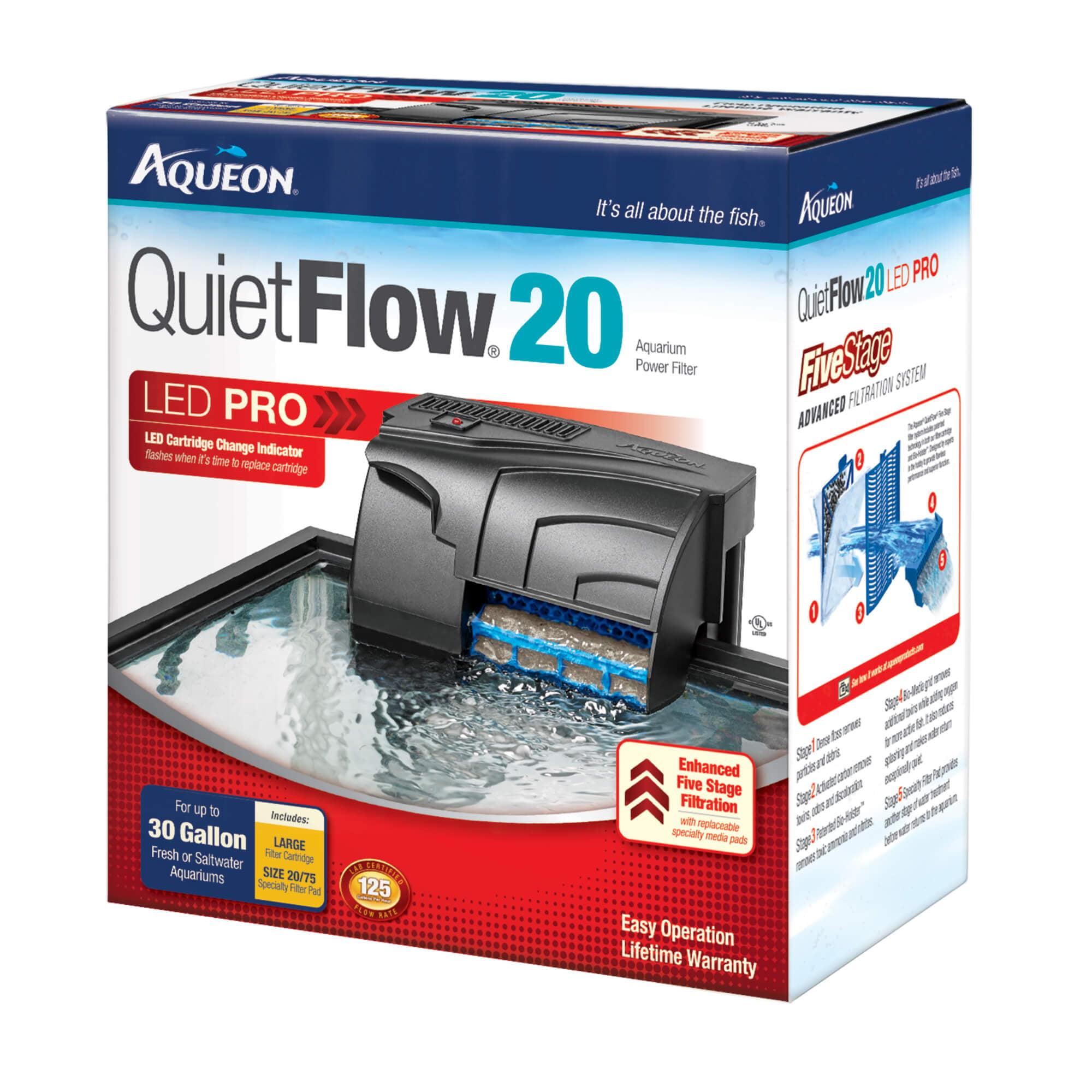 Aqueon QuietFlow LED 20 Filter