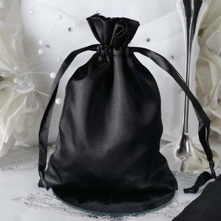 f6b67a355b37 Efavormart 60PCS Satin Gift Bag Drawstring Pouch for Wedding Party Favor  Jewelry Candy Solid Satin Bags - 5