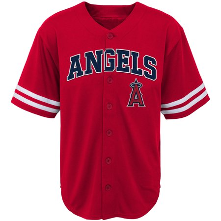 Youth Red Los Angeles Angels Team Jersey ()