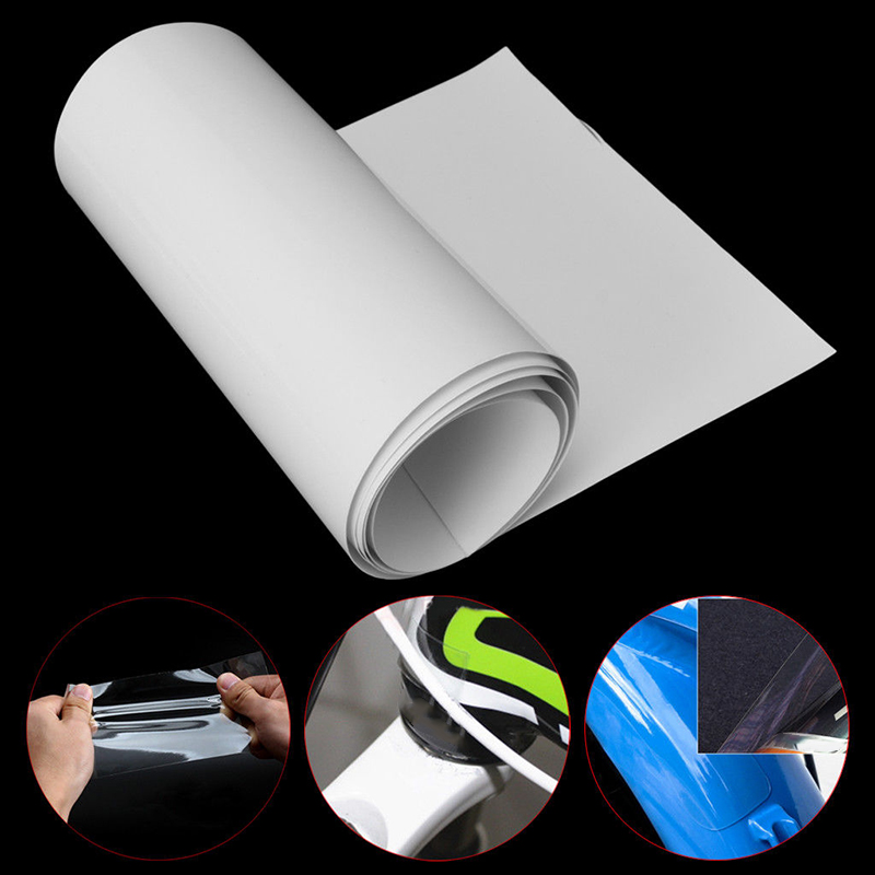 10cm*100cm Bike Bicycle Frame Protector Clear Wear Surface Tape Film F CWUS