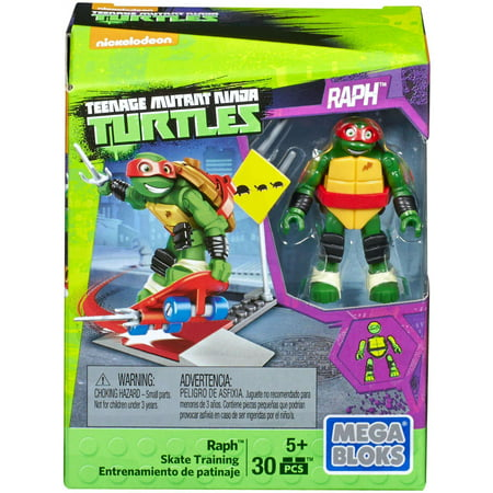 Mega Bloks Teenage Mutant Ninja Turtles Raph Skate Training