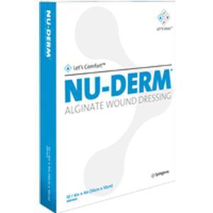 Systagenix Nu-Derm Alginate Wound Dressing  2'' x 2'' Box of (Alginate Wound Dressing)