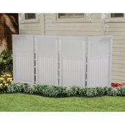 Suncast Wicker 4 Panel Outdoor Screen Enclosure