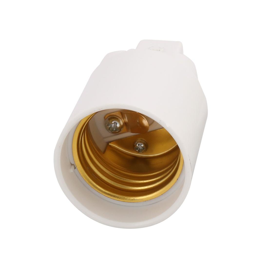 Unique BargainsG24 to E27 Light Socket, Bulb Base Adapter Converter, Commutator 10Pcs - image 1 of 4