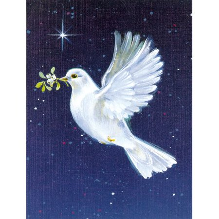 Carolines Treasures Peace Dove With The Olive Branch 2 Sided Garden Flag