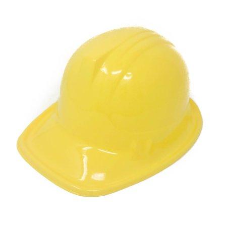 24 Plastic Construction Hats for Kids - Construction Party Supplies