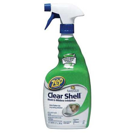 Zep Commercial Clear Shell Mold and Mildew Inhibitor, 32 oz