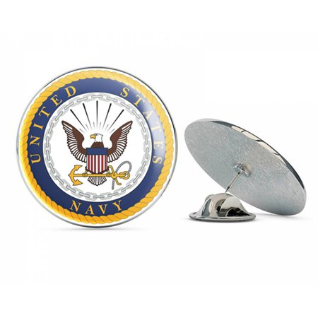 US Navy United States Navy U.S. Navy Seal  Military Veteran USA Pride Served Gift Metal 0.75