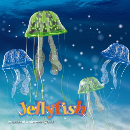 Jellyfish Aquarium Decoration - Imitation of Underwater