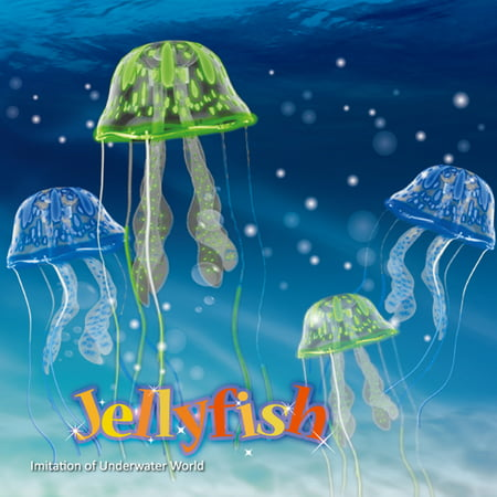 Jellyfish Aquarium Decoration - Imitation of Underwater world