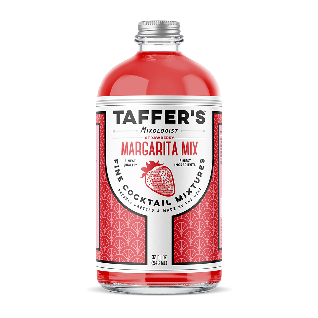 Taffer S Strawberry Margarita Mix 32oz Walmart Com Walmart Com