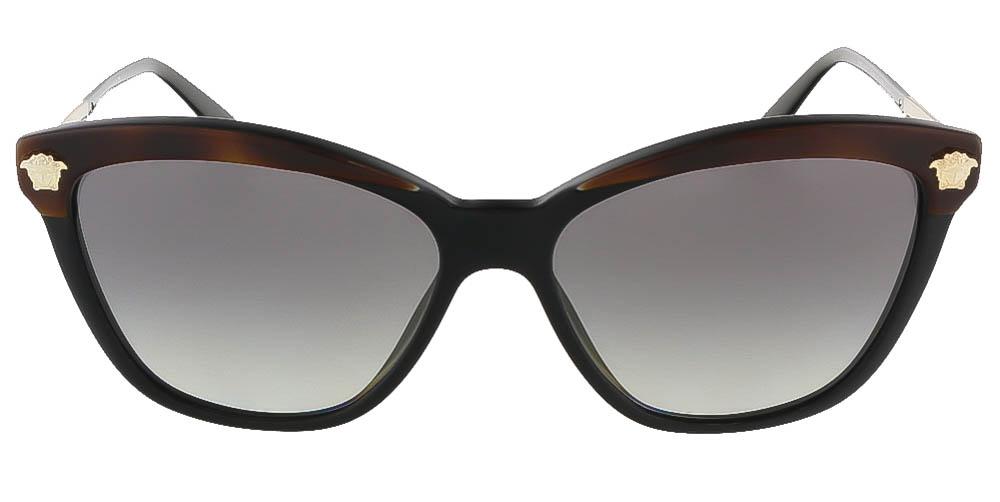 07acac9a7336c Versace - VERSACE Sunglasses VE 4313 518011 Havana  Black 57MM - Walmart.com