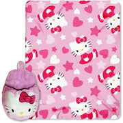 "Hello Kitty Hearts Of Fun 40"" X 50"" Thro"