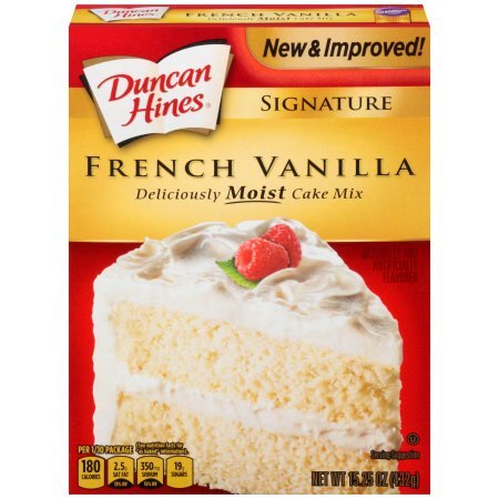 (3 Pack) Duncan Hines SIGNATURE LAYER CAKE MIX French Vanilla 15.25 Oz (Vanilla Cake)