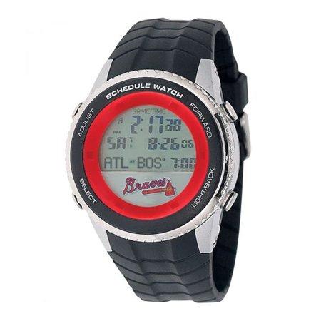 Fan Watches Mlb Sports Team Atlanta Braves Schedule Wrist Watch