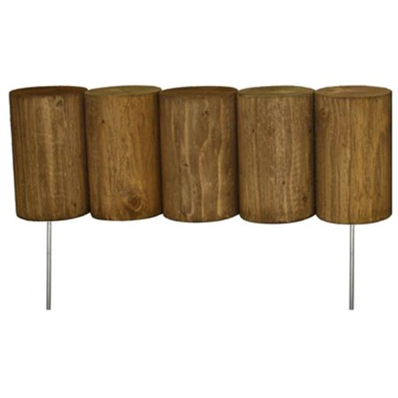 Greenes Fence RC34B 5 x 16 in. Log Edging - image 1 of 1