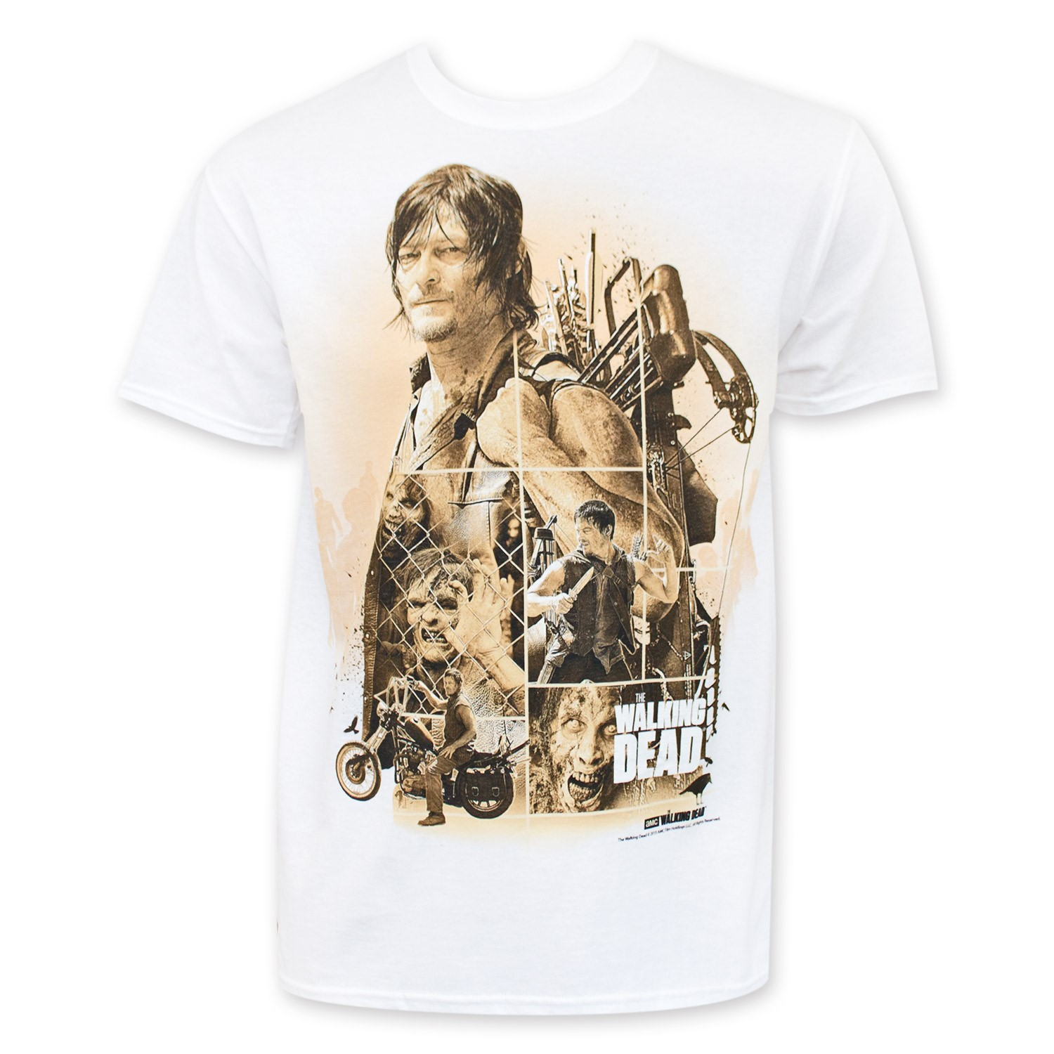 Walking Dead Men's Daryl Tee Shirt