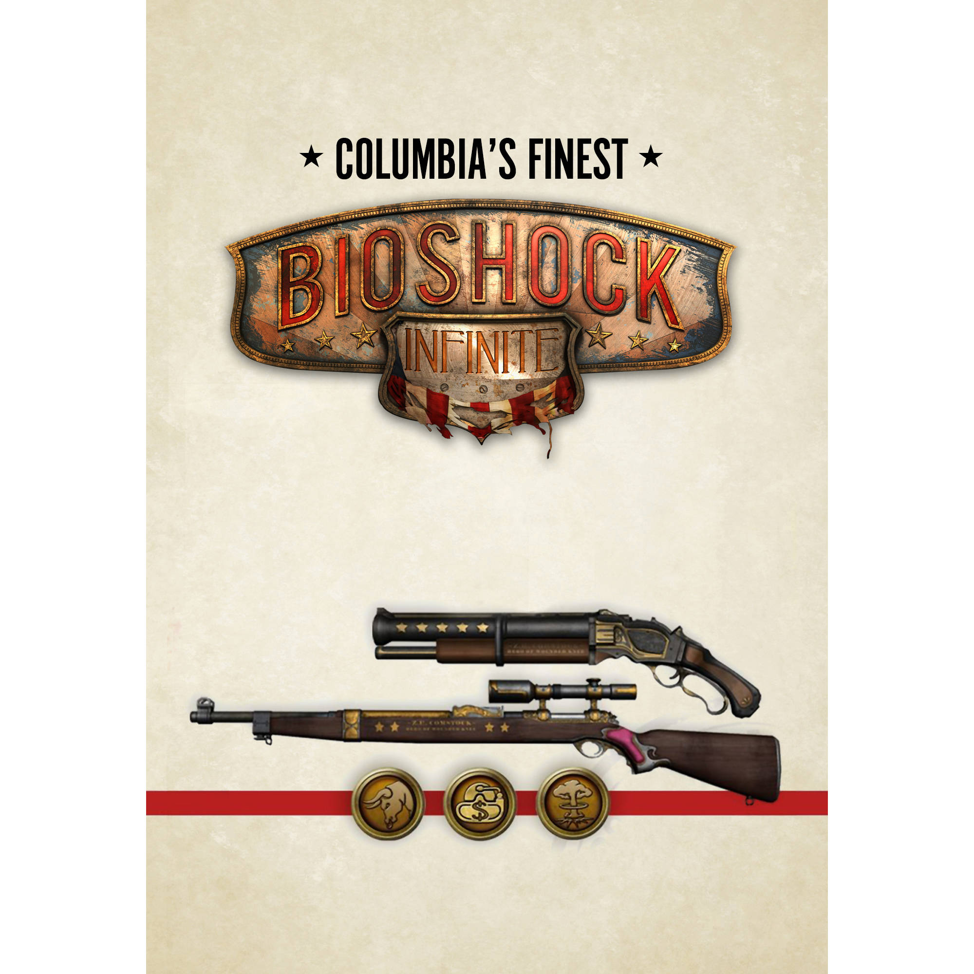 Image of BioShock Infinite: Columbia's Finest Pack (PC) (Digital Download)