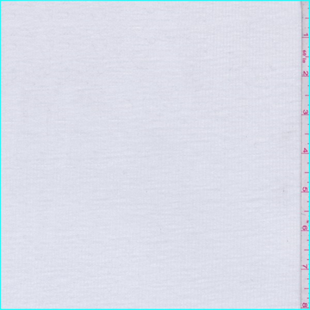 White Ribbed T-Shirt Knit, Fabric By the (Ribbed Knit Fabric)